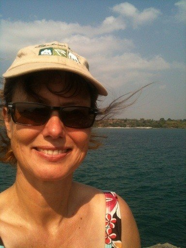 Auf dem Boot in Malawi