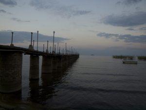 Pier am Lake Malawi