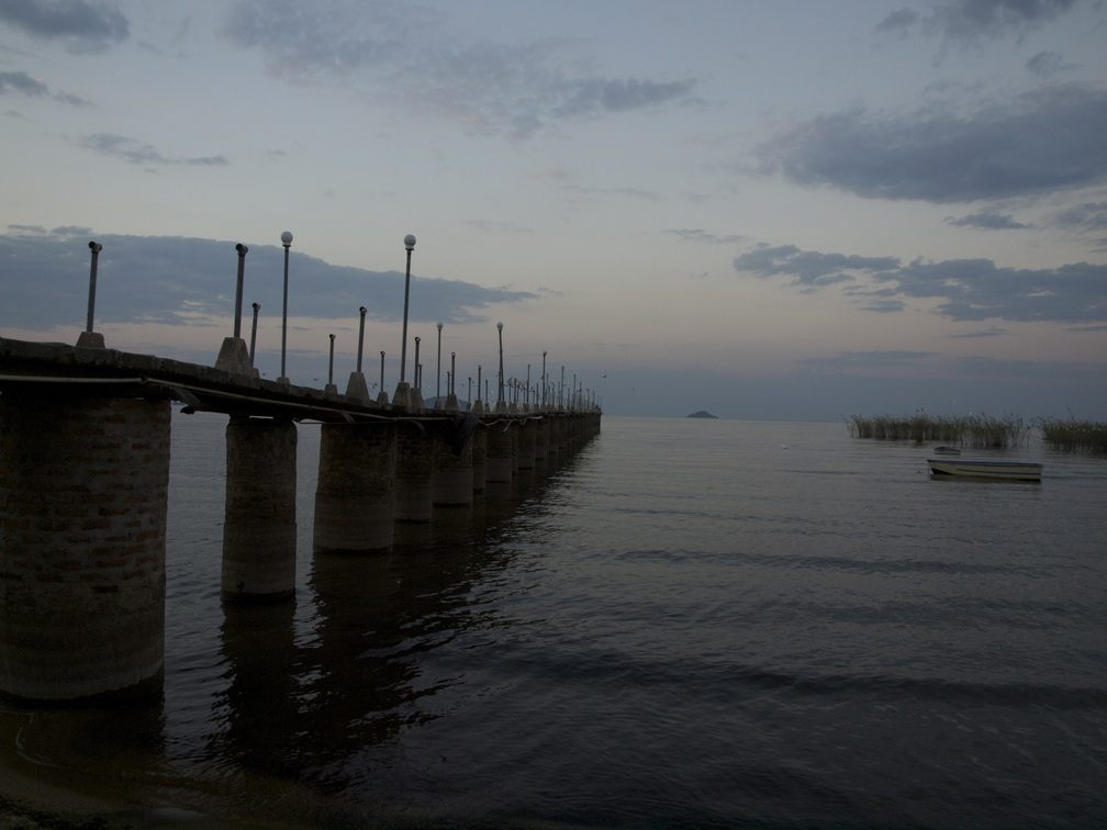 Pier am Lake Malawi