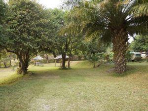 Camping am Malawi See