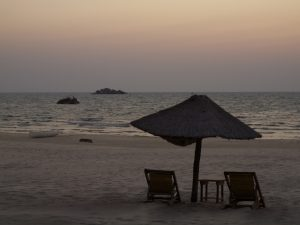 Camping am Lake Malawi