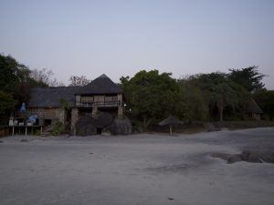 Restaurant am Lake Malawi