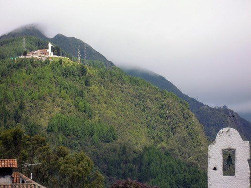 Cerro de Monserrate. best things to do in bogota colombia.