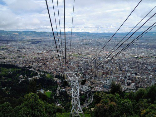 Cable Car Cerro de Montserrate. fun things to do in bogota.