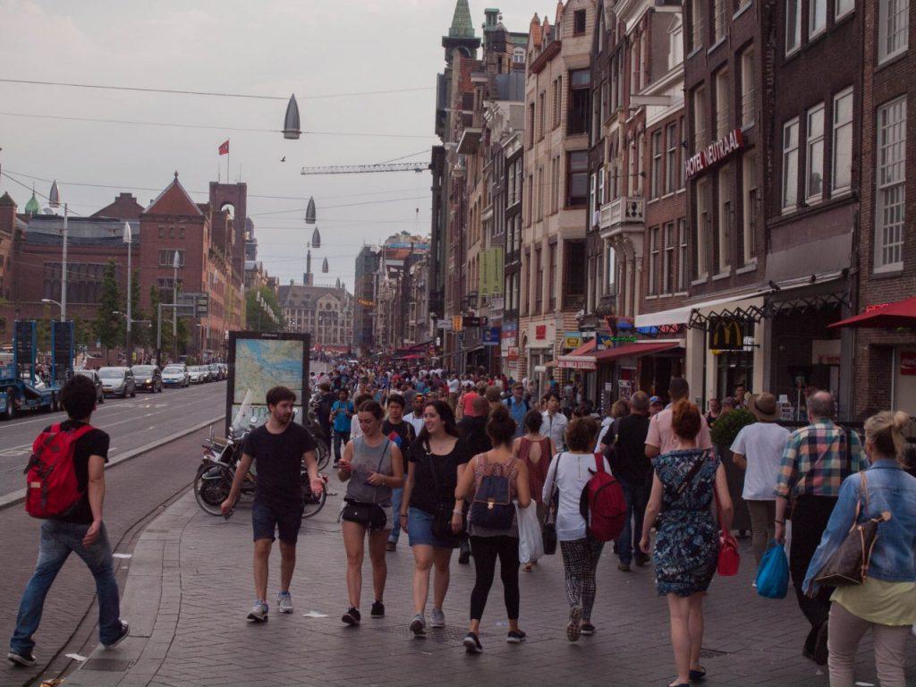Amsterdam, Sehenswürdigkeiten, Reisetipps. Holland, Venedig des Nordens.