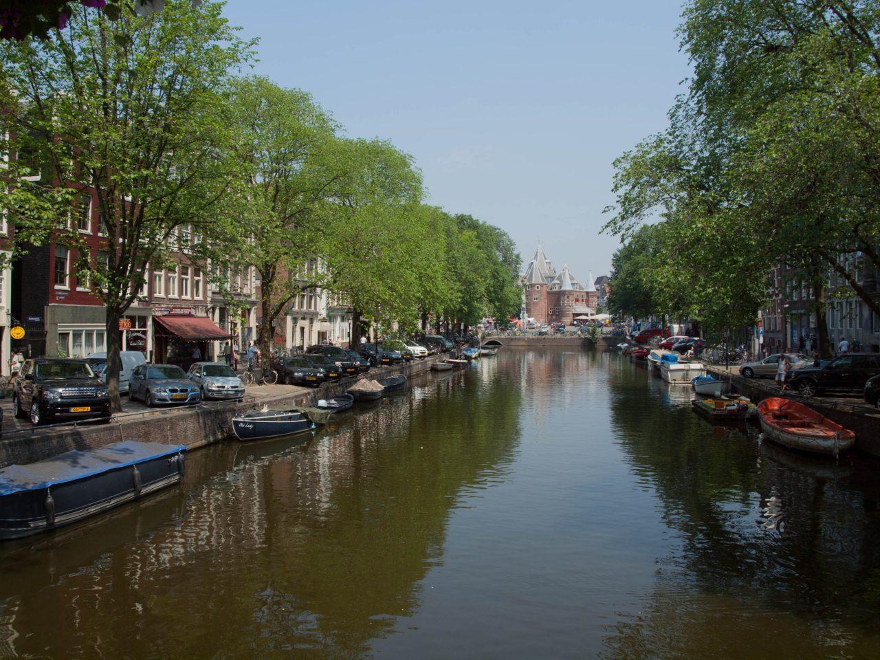 Holland, Venedig des Nordens. Amsterdam's Grachten. Mehr Amsterdam Sehenswürdigkeiten Reisetipps folgen hiernach.