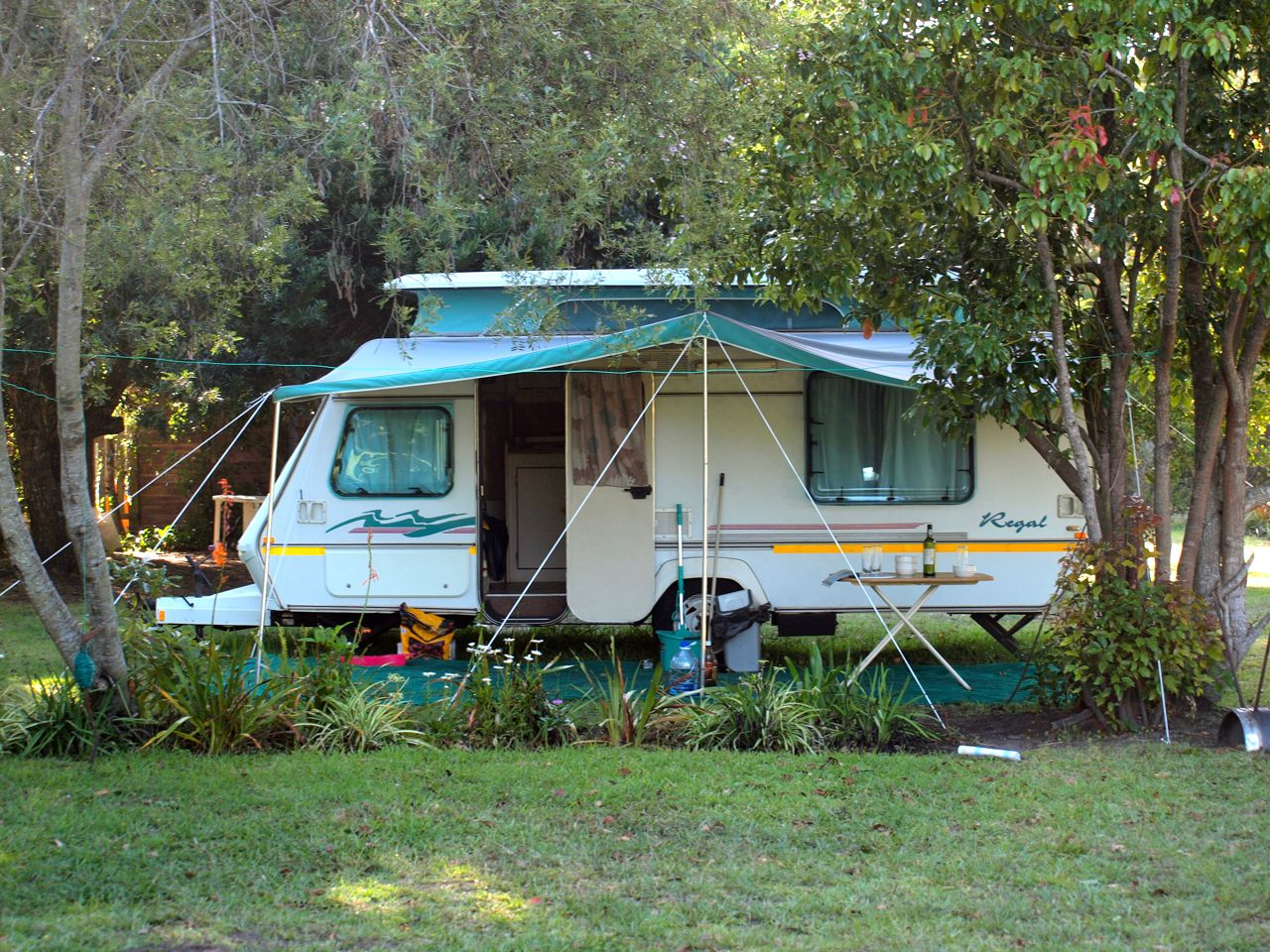 Campingplatz in Plettenberg Bay