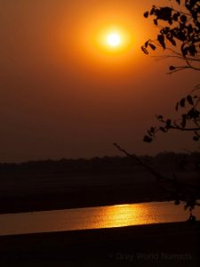 Sunset at South Luangwa National Park