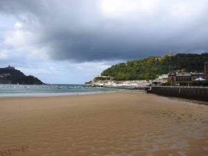 Beach San Sebastián, Spain