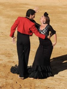 Flamenco, Spanish Horse Dressage and Bullfight - a delightful evening in Mijas, one of the most beautiful white villages at the Costa del Sol in Spain.