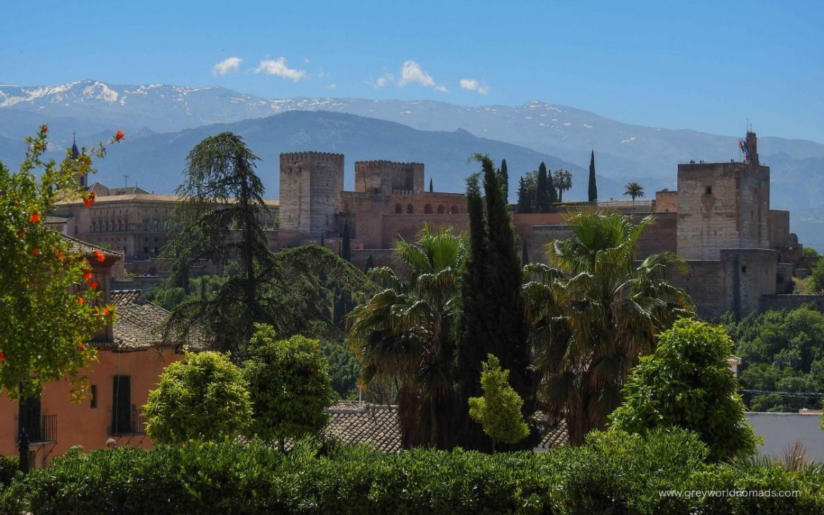 One Day In Granada, Spain - Things To Do | GLOBAL GREY NOMADS
