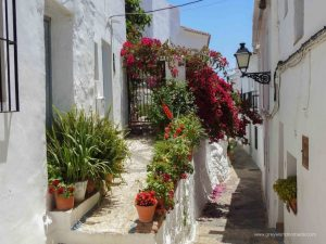 beautiful spanish villages. frigiliana blog.