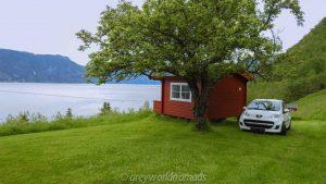 Norway Road Trip Itinerary. Aurlandsvegen Snow Road.