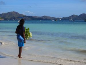 Praslin is one of the granite islands of the Seychelles with the best beaches you can imagine. A tropical paradise for nature lovers above and under the water.