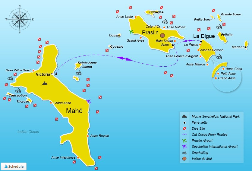 les iles seychelles, how to go from mahe to praslin, transport mahe praslin, ferry-mahe-praslin, mahe praslin ferry price, mahe island to praslin, ferry seychelles mahe praslin, how to get from mahe to praslin island, distance from mahe to praslin, praslin seychelles map, cat cocos schedule, mahe to praslin ferry duration