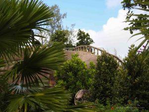 Jardin Marron Praslin Seychelles