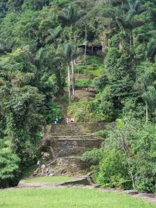 Ciudad Perdida Tour is a four to six days hiking trail of 46km round trip through the jungle of the Sierra Nevada Mountains in Colombia. The Ciudad Perdida Colombia Trek leads over 1200 ancient steps to the Lost City with the old name Teyuna which is believed to be 650 years older than Machu Picchu.