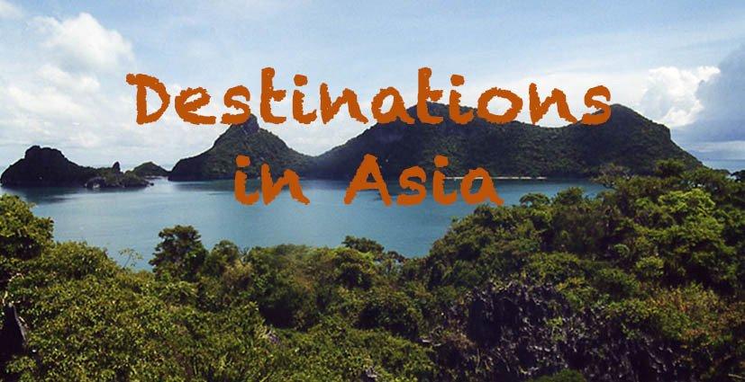 Destinations in Asia