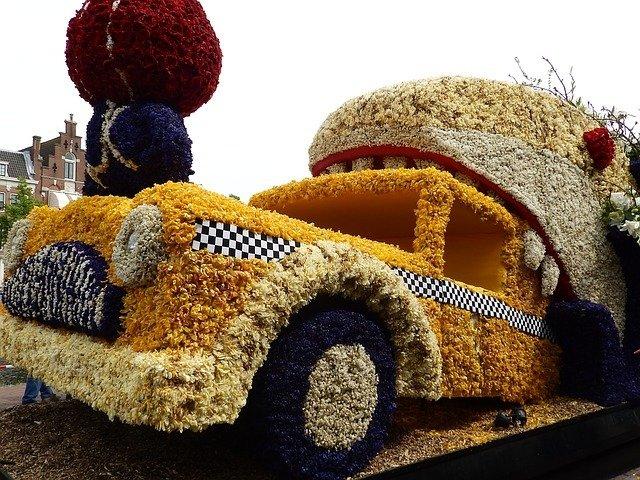 Busreisen zum Blumenkorso, Blumenkorso Holland 2019. Blumenkorso Keukenhof 2019.