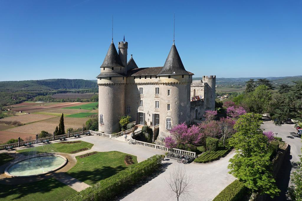 Chateau de Mercues - castles in southern france