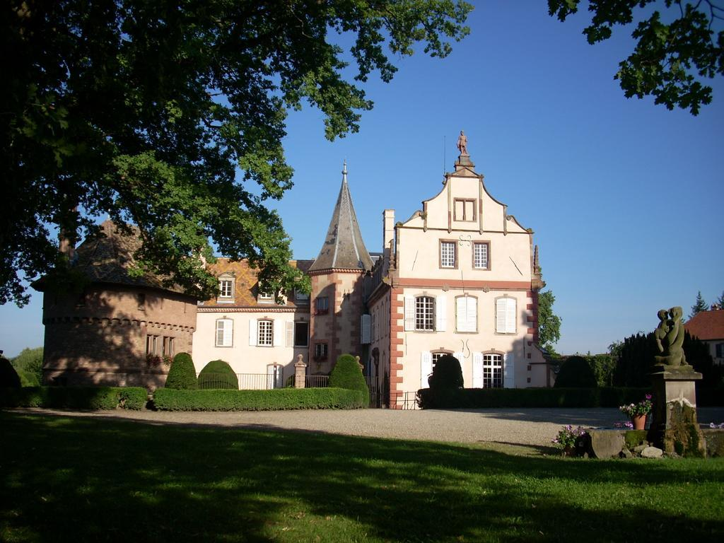 Le Chateau d'Osthoffen - Castles in France, castle bed and breakfast france, hotel elsass weinstrasse