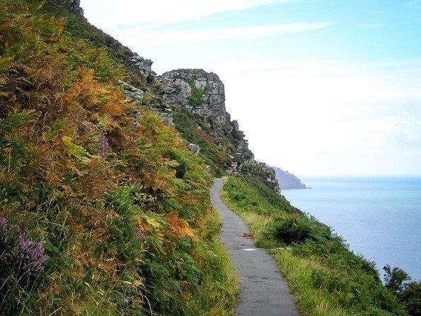 Exmoor National Park, England. Devon national park, UK self-drive tours. hiking national park. National Park England.