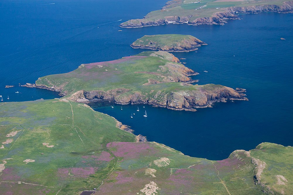The Pembrokeshire Coast National Park, Wales. UK self-drive tours. planning a road trip around the uk. pembroke national park. most remote place in uk.