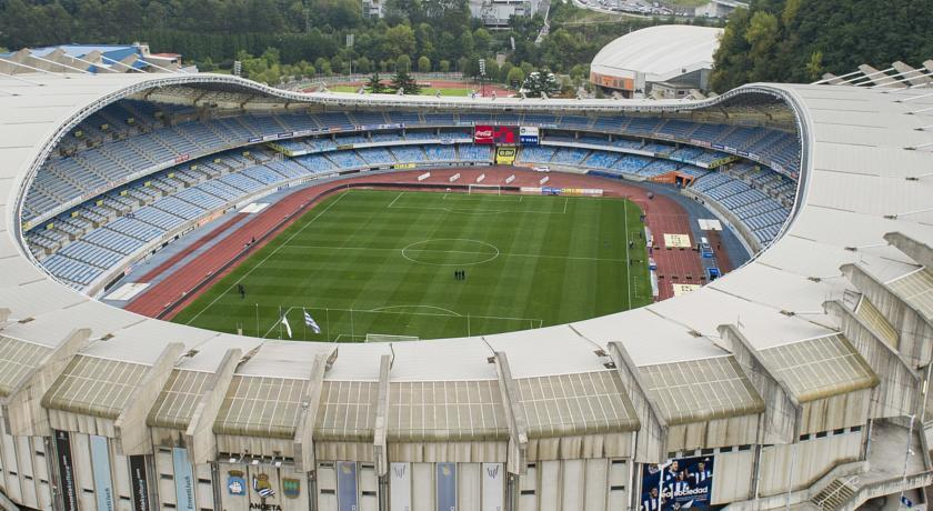 Football Stadium Amara San Sebastian