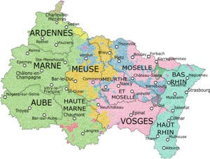 Alsace Champagne Ardenne Lorraine