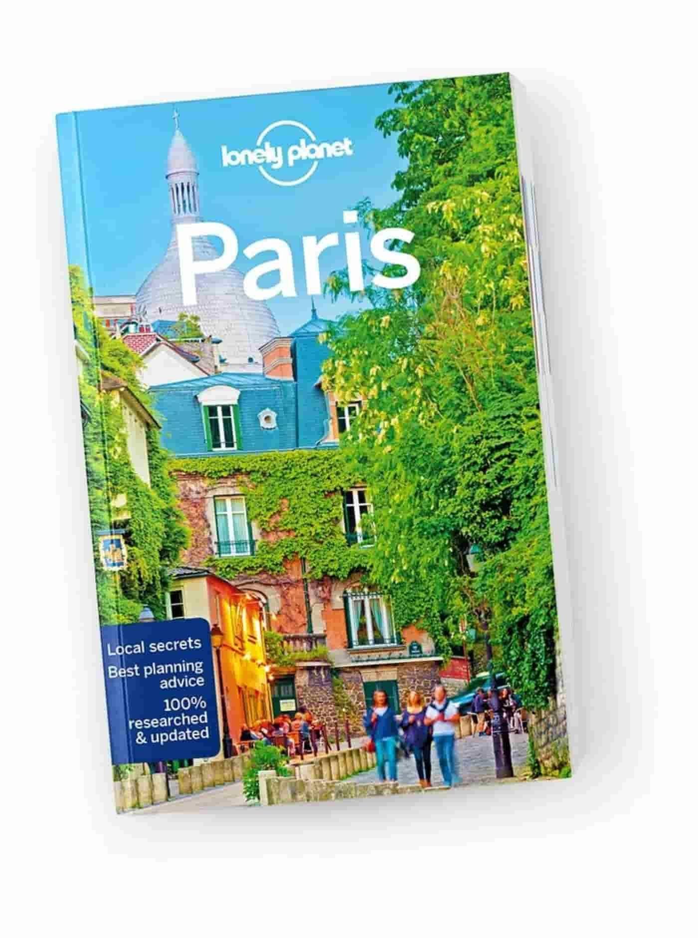 Paris attractions map