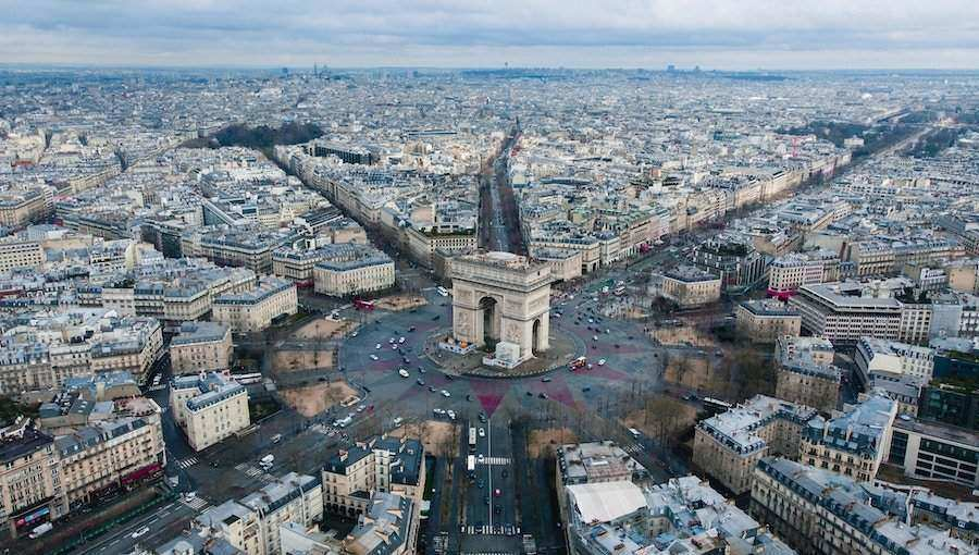 Paris itinerary 5 days - Paris Sehenswürdigkeiten Karte