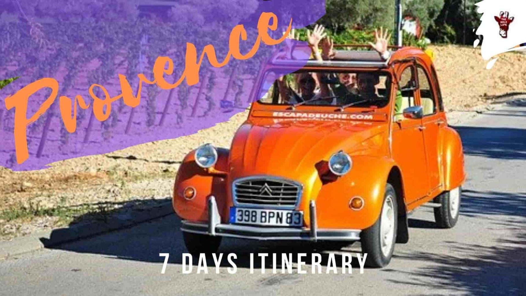 South of France 7 days itinerary